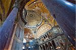 Byzantine architecture of Aya Sofya (Hagia Sophia), constructed as a church in the 6th century by Emperor Justinian, a mosque for years, now a museum, UNESCO World Heritage Site, Istanbul, Turkey, Europe Stock Photo - Premium Rights-Managed, Artist: Robert Harding Images, Code: 841-05781581