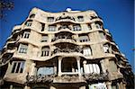 Casa Mila, Barcelona, Catalonia, Spain, Europe Stock Photo - Premium Rights-Managed, Artist: Robert Harding Images, Code: 841-05781915