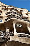 Casa Mila, Barcelona, Catalonia, Spain, Europe Stock Photo - Premium Rights-Managed, Artist: Robert Harding Images, Code: 841-05781918