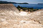 The Amphitheatre at Kas, the only Anatolian theatre to face the sea, Kas, Antalya Province, Anatolia, Turkey, Asia Minor, Eurasia Stock Photo - Premium Rights-Managed, Artist: Robert Harding Images, Code: 841-05781985