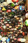 Lamps, Grand Bazaar, Istanbul, Turkey, Europe