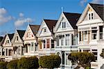 The famous Painted Ladies, well maintained old Victorian houses on Alamo Square, San Francisco, California, United States of America, North America Stock Photo - Premium Rights-Managed, Artist: Robert Harding Images, Code: 841-05782416