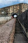 Castillo San Felipe del Morro, old Spanish fortress, UNESCO World Heritage Site, San Juan, Puerto Rico, West Indies, Caribbean, Central America Stock Photo - Premium Rights-Managed, Artist: Robert Harding Images, Code: 841-05782478