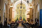 Interior of the 18th century Cathedral, Tegucigalpa, Honduras, Central America Stock Photo - Premium Rights-Managed, Artist: Robert Harding Images, Code: 841-05782509