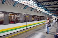 platform - Metro line passengers, Medellin, Colombia, South America Stock Photo - Premium Rights-Managednull, Code: 841-05782694