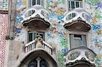 Casa Batllo by Gaudi, Barcelona, Catalonia, Spain, Europe Stock Photo - Premium Rights-Managed, Artist: Robert Harding Images, Code: 841-05784416