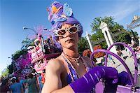 Gay Pride 2009, Madrid, Spain, Europe Stock Photo - Premium Rights-Managednull, Code: 841-05784631