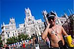 Gay Pride 2009, Plaza de Cibeles, Madrid, Spain, Europe Stock Photo - Premium Rights-Managed, Artist: Robert Harding Images, Code: 841-05784634