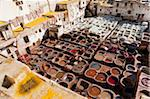 Tannery, Fez, UNESCO World Heritage Site, Morocco, North Africa, Africa Stock Photo - Premium Rights-Managed, Artist: Robert Harding Images, Code: 841-05784663