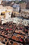 Tannery, Fez, UNESCO World Heritage Site, Morocco, North Africa, Africa Stock Photo - Premium Rights-Managed, Artist: Robert Harding Images, Code: 841-05784664