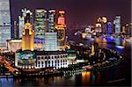 New Pudong skyline, looking across the Huangpu River from the Bund, Shanghai, China, Asia Stock Photo - Premium Rights-Managed, Artist: Robert Harding Images, Code: 841-05784811