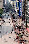 Pedestrians walking past stores on Nanjing Road, Shanghai, China, Asia Stock Photo - Premium Rights-Managed, Artist: Robert Harding Images, Code: 841-05784817
