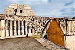 Governor's Palace in the Mayan ruins of Uxmal, UNESCO World Heritage Site, Yucatan, Mexico, North America Stock Photo - Premium Rights-Managed, Artist: Robert Harding Images, Code: 841-05785458