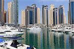 Dubai Marina, Dubai, United Arab Emirates, Middle East Stock Photo - Premium Rights-Managed, Artist: Robert Harding Images, Code: 841-05785660