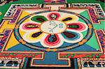 Buddhist sand mandala, Paris, France, Europe Stock Photo - Premium Rights-Managed, Artist: Robert Harding Images, Code: 841-05785842