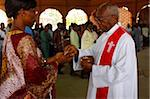 Catholic Mass in Lome, Togo, West Africa, Africa