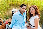 Couple having Picnic, Unionville, Ontario, Canada Stock Photo - Premium Royalty-Free, Artist: Ikonica, Code: 600-05786064