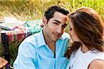 Couple having Picnic, Unionville, Ontario, Canada Stock Photo - Premium Royalty-Free, Artist: Ikonica, Code: 600-05786065