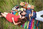 Couple having Picnic, Unionville, Ontario, Canada Stock Photo - Premium Royalty-Free, Artist: Ikonica, Code: 600-05786085