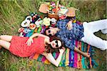 Couple having Picnic, Unionville, Ontario, Canada Stock Photo - Premium Royalty-Free, Artist: Ikonica, Code: 600-05786086