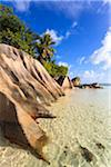 Granite Rock Formations, Anse Source d'Argent, La Digue, Seychelles Stock Photo - Premium Royalty-Free, Artist: F. Lukasseck, Code: 600-05786190