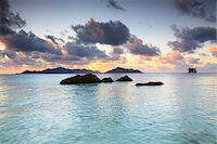 seychelles - Granite Rock Formations, Anse Source d'Argent, La Digue, Seychelles Stock Photo - Premium Royalty-Freenull, Code: 600-05786199