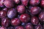 Close-up of Plums Stock Photo - Premium Rights-Managed, Artist: dk & dennie cody, Code: 700-05786100
