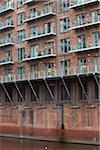 Exterior of Apartment Building, Manchester, England Stock Photo - Premium Rights-Managed, Artist: Jason Friend, Code: 700-05786109