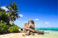 seychelles - Granite Rock Formations, Anse Royal, Mahe, Seychelles Stock Photo - Premium Royalty-Freenull, Code: 600-05786215
