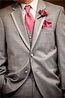 Close-Up of Groom's Attire Stock Photo - Premium Rights-Managednull, Code: 700-05786451