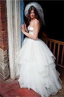 Portrait of Bride Stock Photo - Premium Rights-Managednull, Code: 700-05786471