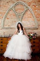 Portrait of Bride Stock Photo - Premium Rights-Managednull, Code: 700-05786477
