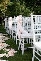 Chairs Arranged for Wedding Stock Photo - Premium Rights-Managednull, Code: 700-05786589