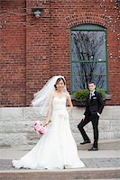 Bride and Groom Stock Photo - Premium Rights-Managednull, Code: 700-05786621