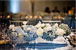 Decorated Tables at Wedding Reception Stock Photo - Premium Rights-Managed, Artist: Ikonica, Code: 700-05786676
