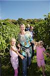 Family in vinyard Stock Photo - Premium Royalty-Free, Artist: Hiep Vu                  , Code: 6106-05787750