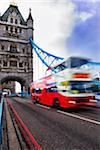 bus with motion blur on tower bridge london Stock Photo - Premium Royalty-Free, Artist: Beyond Fotomedia, Code: 6106-05788161