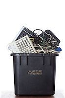 Electronic Waste Recycling Stock Photo - Premium Royalty-Freenull, Code: 6106-05788193