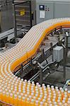 Production line in a bottling factory Stock Photo - Premium Royalty-Freenull, Code: 693-05794235