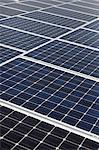 Diagonal line of solar array Stock Photo - Premium Royalty-Free, Artist: CulturaRM, Code: 693-05794249