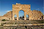 Arch of Antoninus Pius, Roman ruins of Sbeitla, Tunisia, North Africa, Africa Stock Photo - Premium Rights-Managed, Artist: Robert Harding Images, Code: 841-05794614
