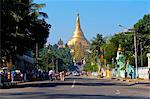 World famous Shwedagon, Yangon, Myanmar, Asia Stock Photo - Premium Rights-Managed, Artist: Robert Harding Images, Code: 841-05794812