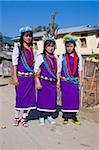 Group of girls from the Hillmiri tribe, Daporijo, Arnuachal Pradesh, India, Asia Stock Photo - Premium Rights-Managed, Artist: Robert Harding Images, Code: 841-05794858