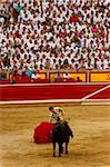 Bullfight, San Fermin festival, Pamplona, Navarra (Navarre), Spain, Europe Stock Photo - Premium Rights-Managed, Artist: Robert Harding Images, Code: 841-05795455