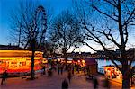 Christmas Market, The Southbank, London, England, United Kingdom, Europe Stock Photo - Premium Rights-Managed, Artist: Robert Harding Images, Code: 841-05795515