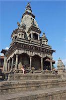 Vatsala Durga Temple, Durbar Square, Bhaktapur, UNESCO World Heritage site, Kathmandu Valley, Nepal, Asia Stock Photo - Premium Rights-Managednull, Code: 841-05795818