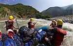 White-water rafting on Sun Kosi River, Nepal, Asia Stock Photo - Premium Rights-Managed, Artist: Robert Harding Images, Code: 841-05795829