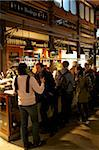 Spanish enjoy tapas and wine in indoor market, Mercado de San Miquel, Madrid, Spain, Europe Stock Photo - Premium Rights-Managed, Artist: Robert Harding Images, Code: 841-05795901