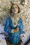 Puritan Lady, Ships' Figurehead Collection, Valhalla, Abbey Gardens, Island of Tresco, Isles of Scilly, England, United Kingdom, Europe Stock Photo - Premium Rights-Managed, Artist: Robert Harding Images, Code: 841-05796052