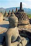 Borobudur, Buddhist archaeological site dating from the 9th century, UNESCO World Heritage Site, Java, Indonesia, Southeast Asia, Asia Stock Photo - Premium Rights-Managed, Artist: Robert Harding Images, Code: 841-05796407